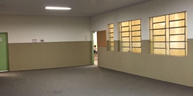 Prefeitura realiza melhorias em escola de Guarapiranga
