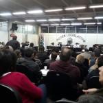 Plenário da Câmara Municipal ficou lotado (Foto: Fábio Souza)