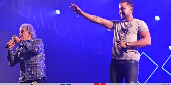 Show de Matogrosso & Mathias encanta o público na Festa do Peão de Ribeirão Bonito