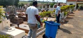 Cemitério de Ribeirão Bonito é preparado para o Dia de Finados