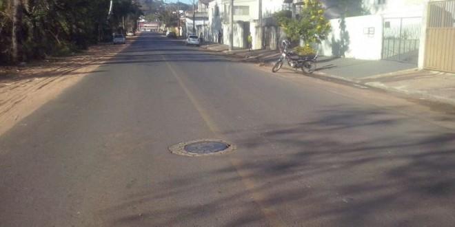 Vereador quer pintura das faixas e sinalização em avenida de Ribeirão Bonito
